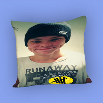 5SOS Ashton Irwin Design for Pillow Case, Pillow Cover, Custom Pillow Case **