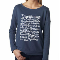 Harry Potter Spell T-shirt ladies long sleeve tshirt