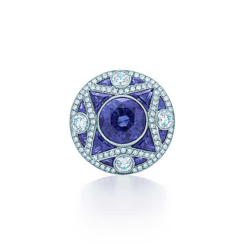Tiffany & Co. - The Gatsby Collection:Sapphire Ring