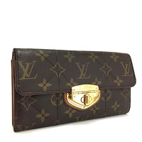 Auth Louis Vuitton Monogram Etoile Porte Feuille Sarah Long Bifold Wallet / gBX