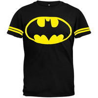 Batman - Logo Jersey T-Shirt (Size: S, Color: Black)