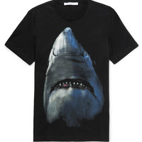 Givenchy - Cuban-Fit Shark-Print Cotton-Jersey T-Shirt