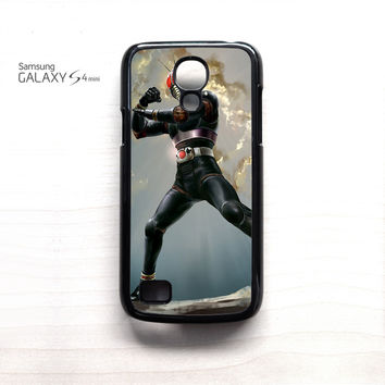 Mask Rider Black Vintage Character TV Show for Samsung Galaxy Mini S3/S4/S5 phonecases