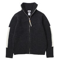 nanamica / Zip Up Wool Sweater