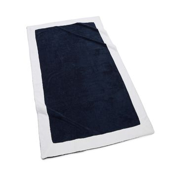 Capri Beach Towel | Navy