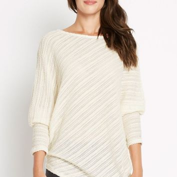 Never Let Go Asymmetrical Knit Sweater