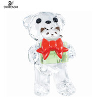 Swarovski Crystal Christmas Figurine KRIS BEAR Christmas 2014 #5058935