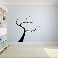 Tree Silhouette Perfect for Adding Family Pictures Vinyl Wall Words Decal Sticker Graphic