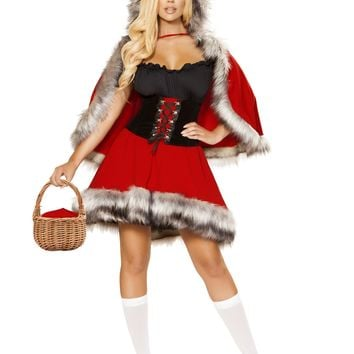 Roma Costume 4854 3pc The Red Chapped Diva