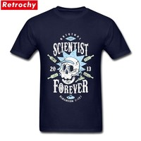 funky t shirts Cool Rick Morty men t shirt 2017 Summer Anime T-shirts Peace among worlds Cartoon tee shirt homme Size M-XXXL