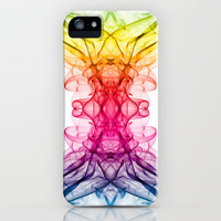 Smoke Art 8 iPhone Case by Steve Purnell | Society6