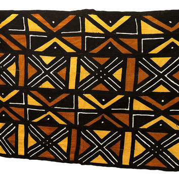 Mudcloth Handwoven African Cloth