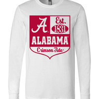 NCAA University of Alabama Crimson Tide UA Est 1831  Long Sleeve T-Shirt - 41AL-1