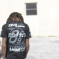 Trap Division Jersey Tee Black Chrome