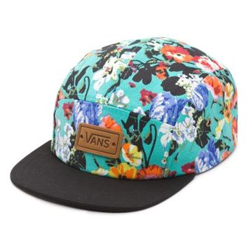 Vans Floral Willa Camper Hat (Smoked Pearl/True White)