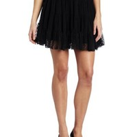 Only Hearts Women's Petticoat Lined Mini Skirt