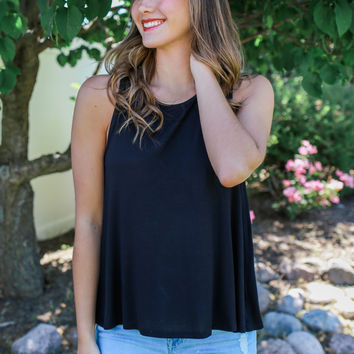 First Sight Top - Black