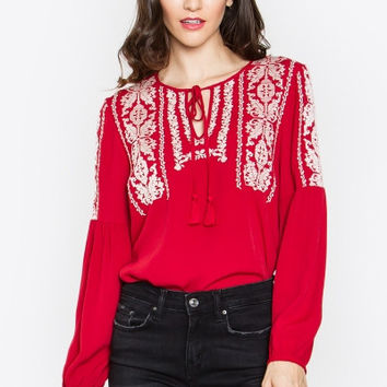 Blouse, DAKOTA PEASANT TOP