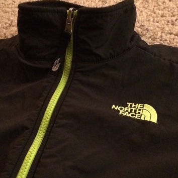 Sale!! Vintage The North Face Polartec jacket TNF winbreaker boys Medium Free US Shipping