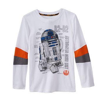Star Wars a Collection for Kohl's R2-D2 Tee - Toddler Boy, Size: