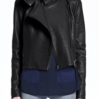 J Brand Jeans - Connix Leather Jacket by J Brand