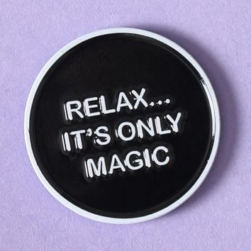 It's Only Magic Enamel Pin - What's New at Gypsy Warrior