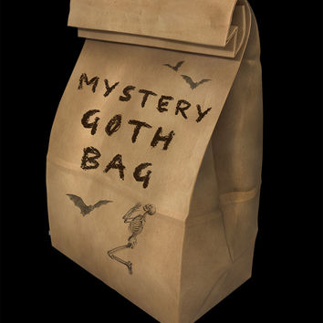Large Gothic Mystery Bag