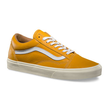 Vans Old Skool Reissue CA Classic Leather Mineral Yellow