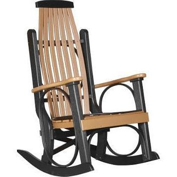 LuxCraft Grandpa's Recycled Plastic Rocking Chair (2 Chairs)