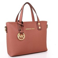 MK Women Fashion Leather Satchel Bag Shoulder Bag Handbag Crossbody