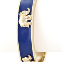 The Ellie Bangle - Royal Blue - elle & k boutique
