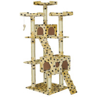 "Go Pet Club 72"" Cat Tree with Condo House"