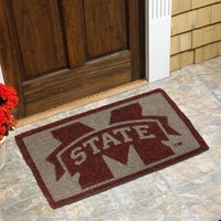 "Mississippi State Bulldogs 18"" x 30"" Coir Welcome Mat"
