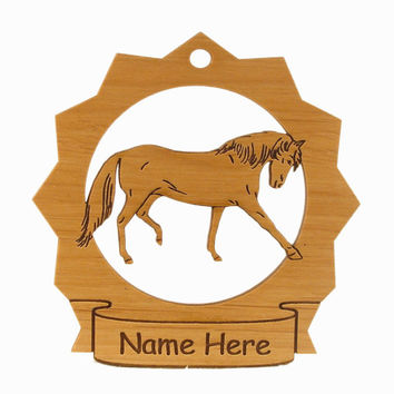Andalusian Horse Wood Ornament 088016 Personalized With Your Horse's Name