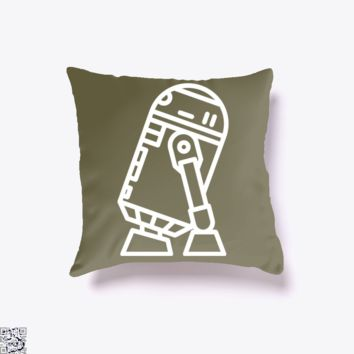 R2, Star Wars Throw Pillow Cover