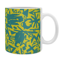 Nick Nelson Gold Synapses Coffee Mug