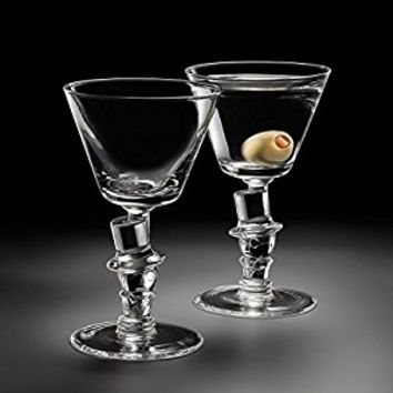 "Old Knickerbocker Bar ""Top Hat"" Cocktail Glass (Gift Box of 2)"