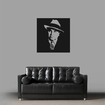 ik1929 Wall Decal Sticker American gangster Al Capone's Chicago bedroom
