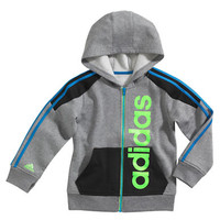 Adidas Boys 2-7 Action Block Fleece Jacket