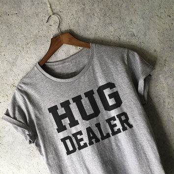 Hug Dealer Shirt in Grey
