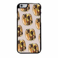 pugs burger case for iphone 6 plus 6s plus
