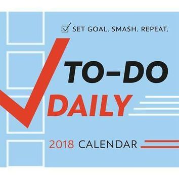 To Do Daily Desk Calendar, Inspirational Quotes by Sellers Publishing