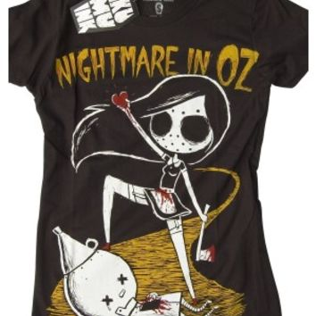 Women's Nightmare In Oz Tee