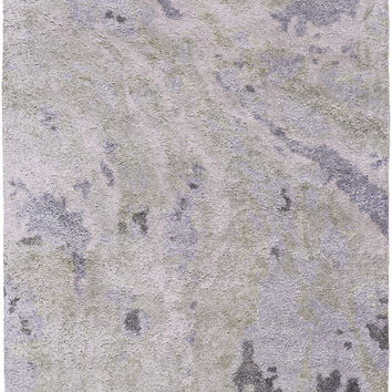 Surya GMN4027 Gemini Gray, Purple Rectangle Area Rug