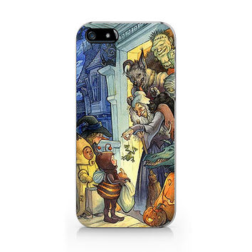 N-544- Vintage Halloween unique design for iPhone 4/5/5C/6 case, Samsung galaxy S4/S5/Note3 case