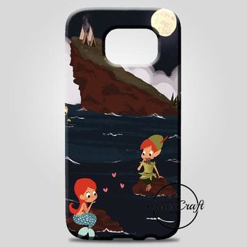 Peter Pan And Ariel Mermaid Samsung Galaxy Note 8 Case | casescraft