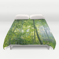 MM - Sunny forest Duvet Cover by Pirmin Nohr
