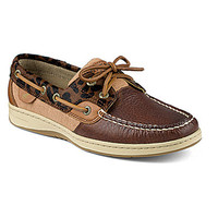 Sperry Top-Sider Bluefish 2-Eye Boat Shoes - Tan/Leopard
