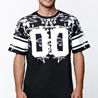 On The Byas Archer Mesh Crew T-Shirt - Mens Tee - Black
