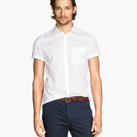 H&M Short-sleeved Cotton Shirt $5.95